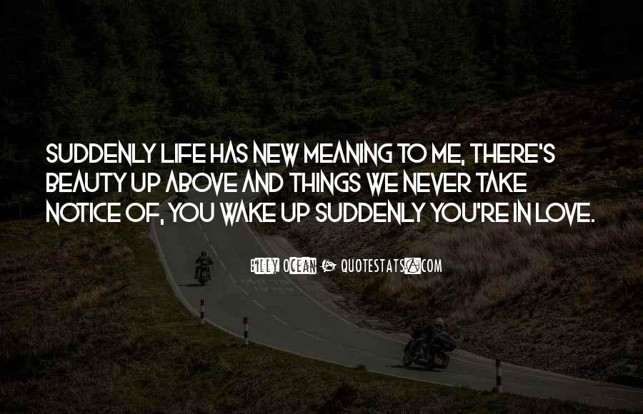 Quotes About New Life And Love #637463