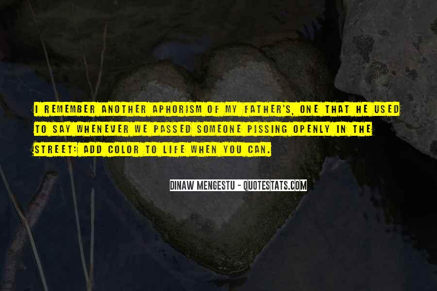 Add Color To Life Quotes #1108989