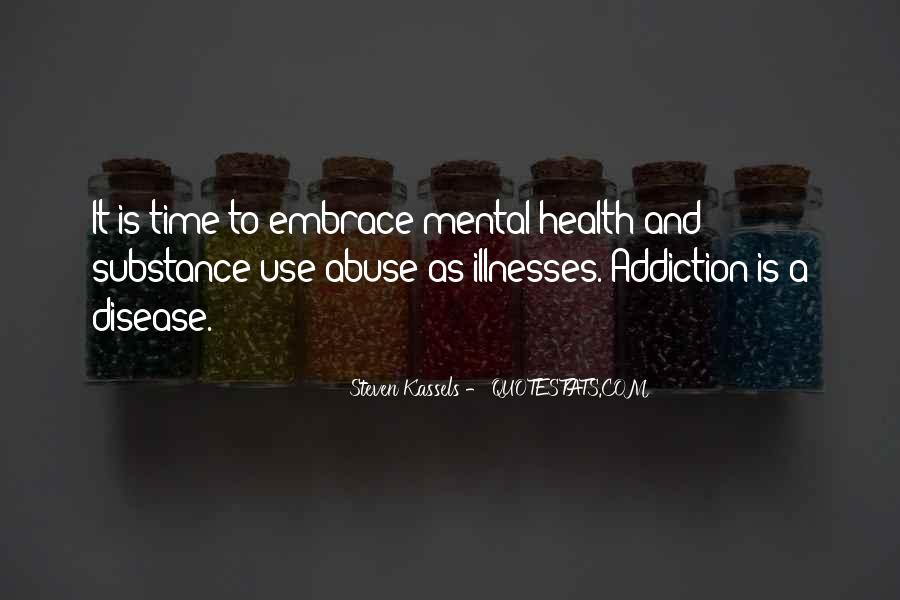 Addiction And Substance Abuse Quotes #712641