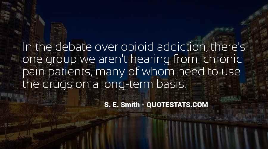 Addiction And Substance Abuse Quotes #947537