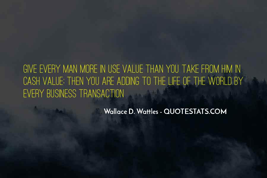 Adding Value To Your Life Quotes #1103340