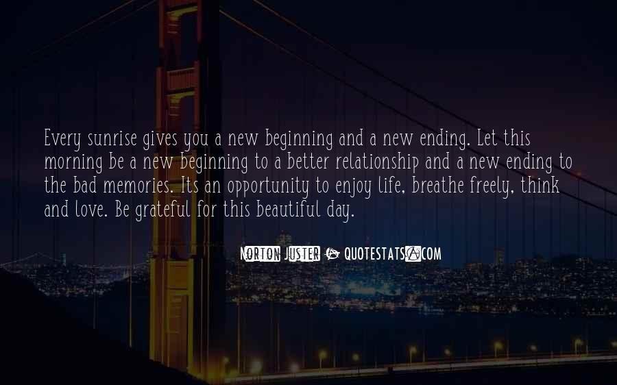 Quotes About New Day New Beginning #1345911