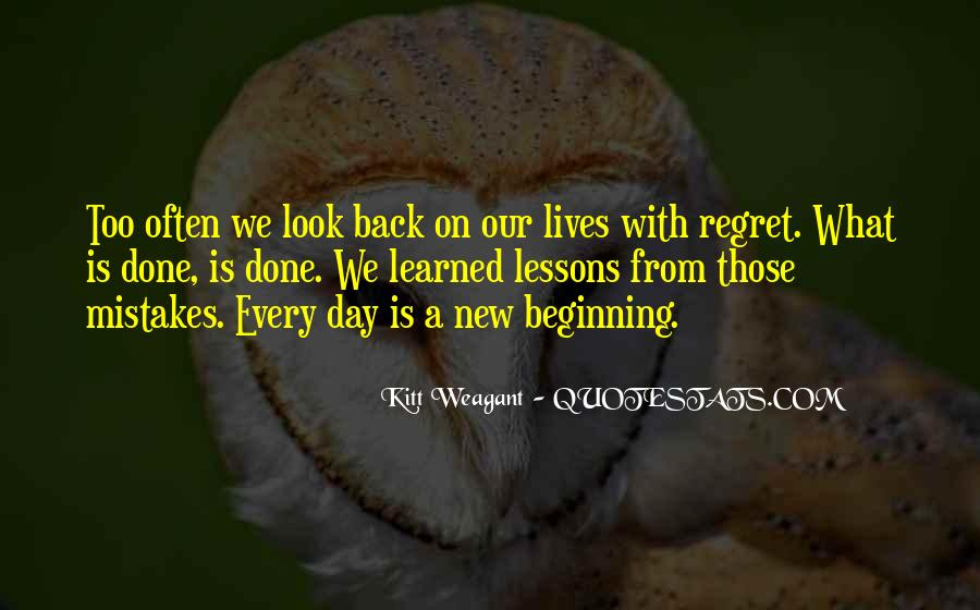 Quotes About New Day New Beginning #1566772
