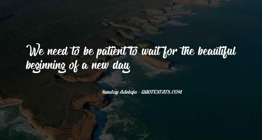 Quotes About New Day New Beginning #1725219