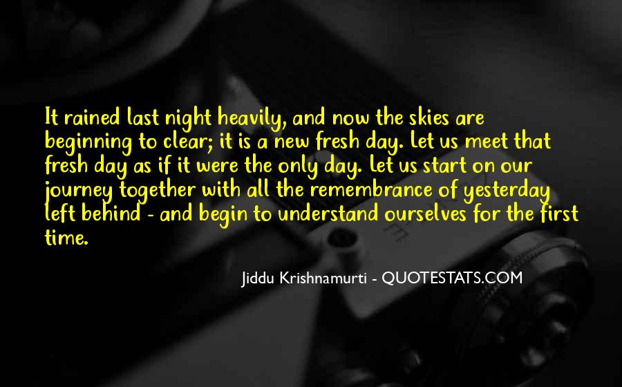 Quotes About New Day New Beginning #267006