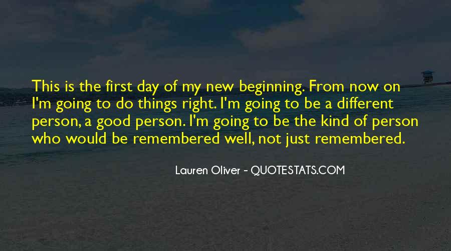 Quotes About New Day New Beginning #272688