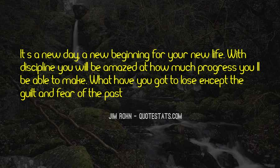 Quotes About New Day New Beginning #489882