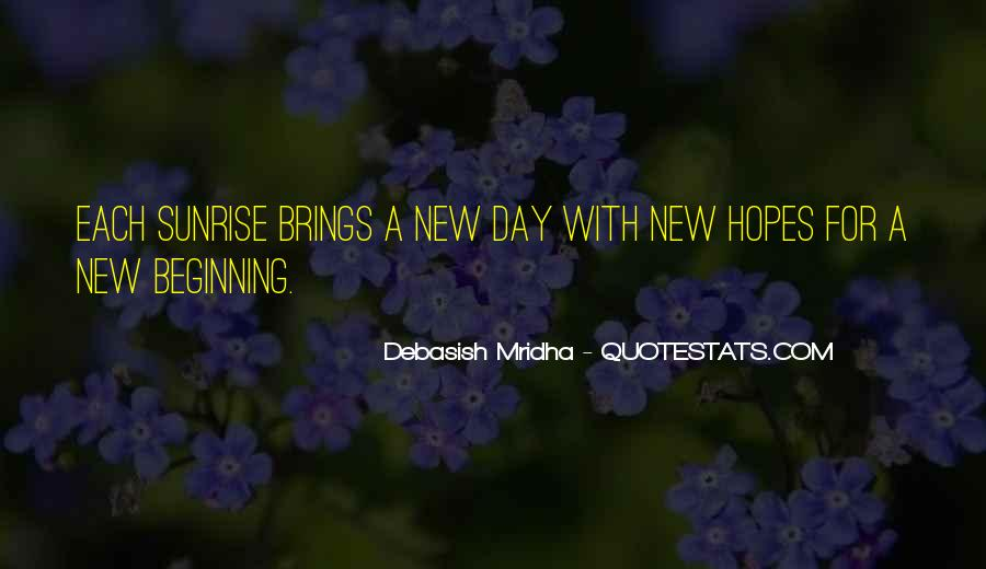 Quotes About New Day New Beginning #972680