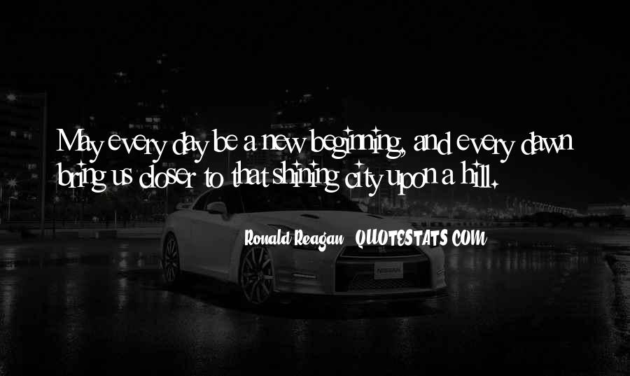Quotes About New Day New Beginning #988417