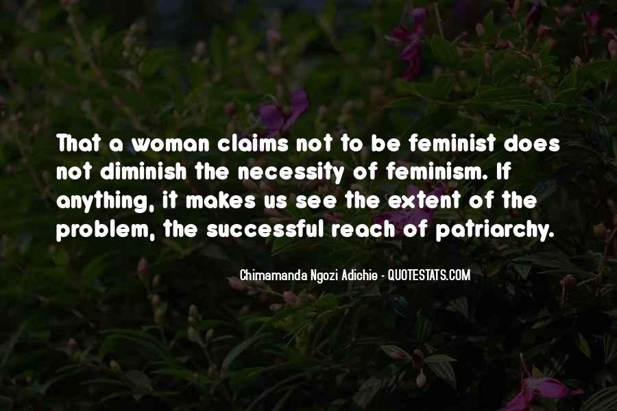 Adichie Feminism Quotes #1270996