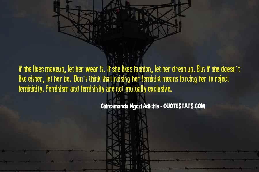 Adichie Feminism Quotes #1652121