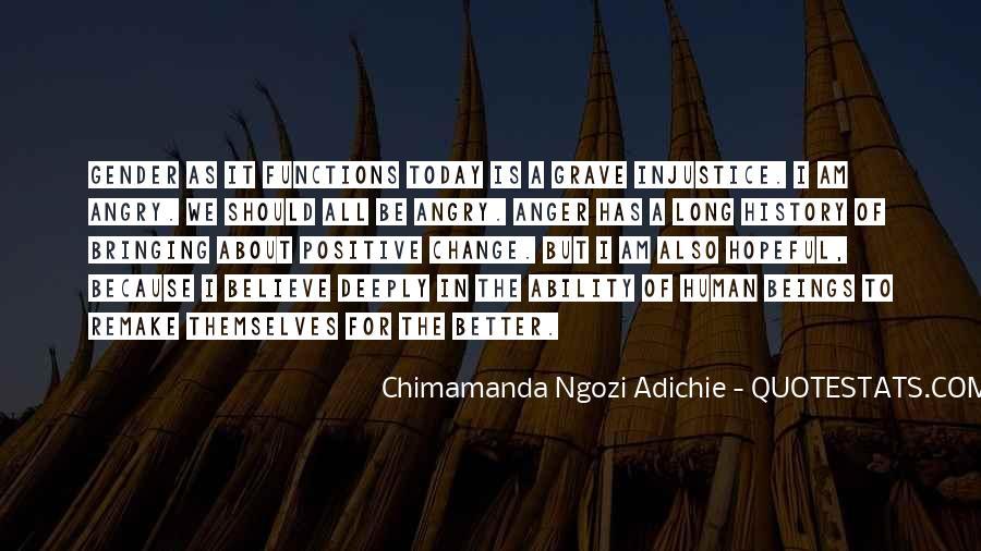 Adichie Feminism Quotes #186378