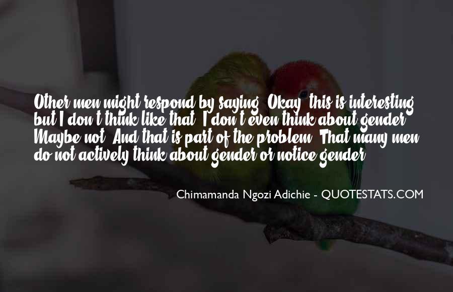 Adichie Feminism Quotes #705202