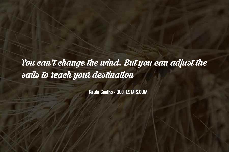 Adjust The Sails Quotes #632647