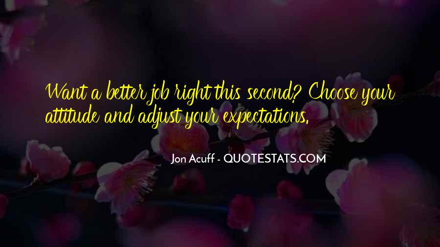 Adjust Your Expectations Quotes #792679