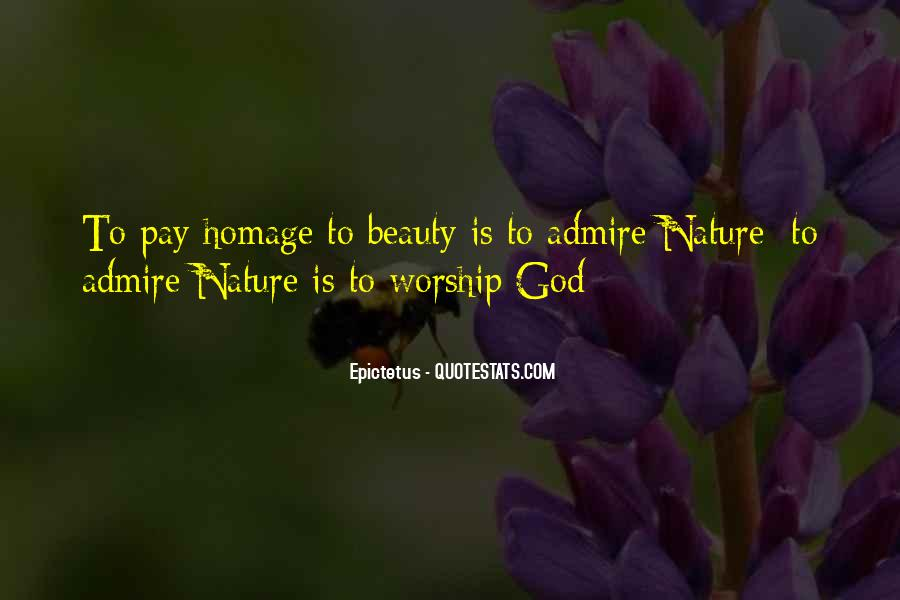 Admire Your Beauty Quotes #1003043