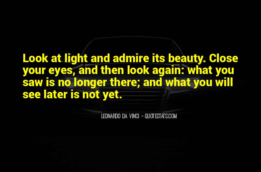 Admire Your Beauty Quotes #232245