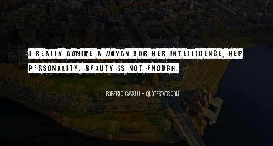 Admire Your Beauty Quotes #300970