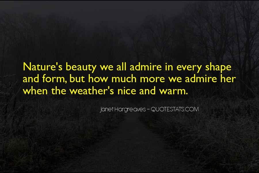 Admire Your Beauty Quotes #872543