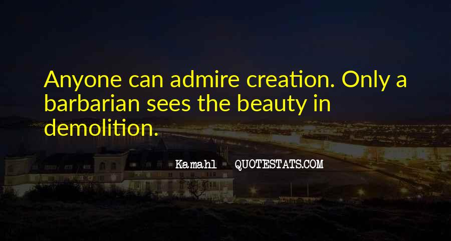 Admire Your Beauty Quotes #956577