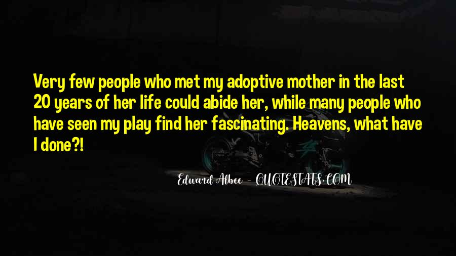 Adoptive Mother Quotes #18419
