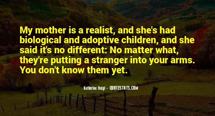 Adoptive Mother Quotes #789753