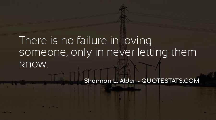 Quotes About Never Letting Someone In #235137