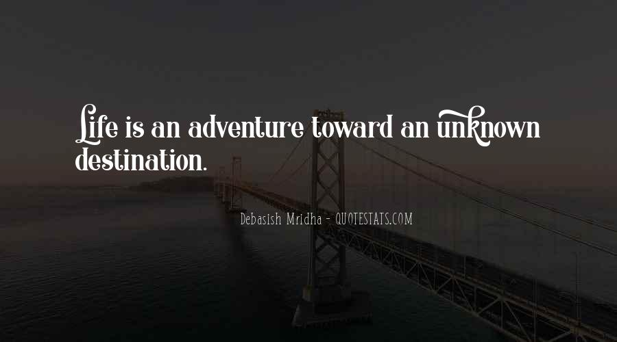 Adventure And Education Quotes #126242