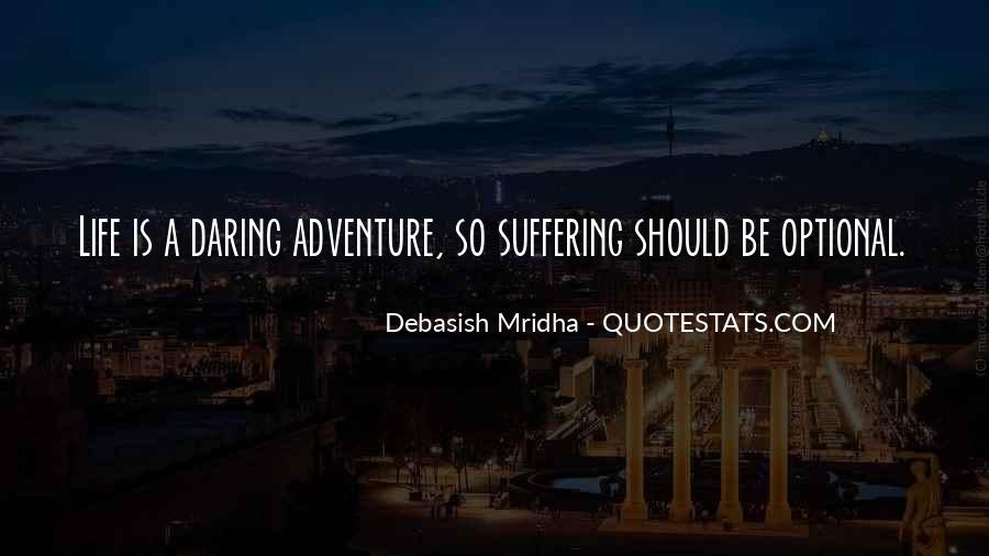 Adventure And Education Quotes #1480012