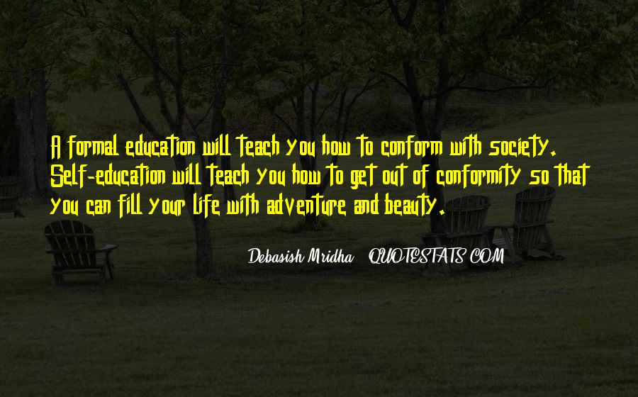 Adventure And Education Quotes #1518349
