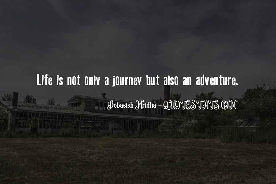 Adventure And Education Quotes #1583760