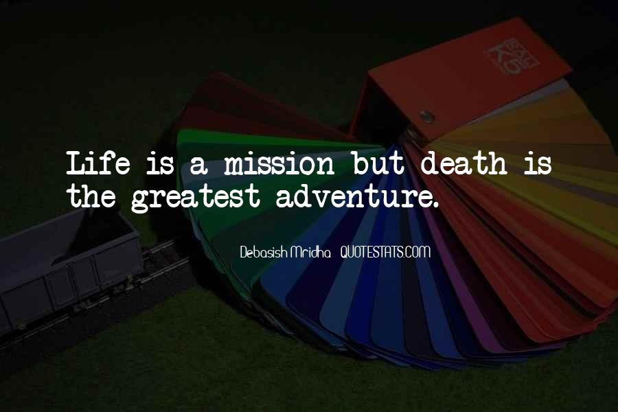 Adventure And Education Quotes #179762