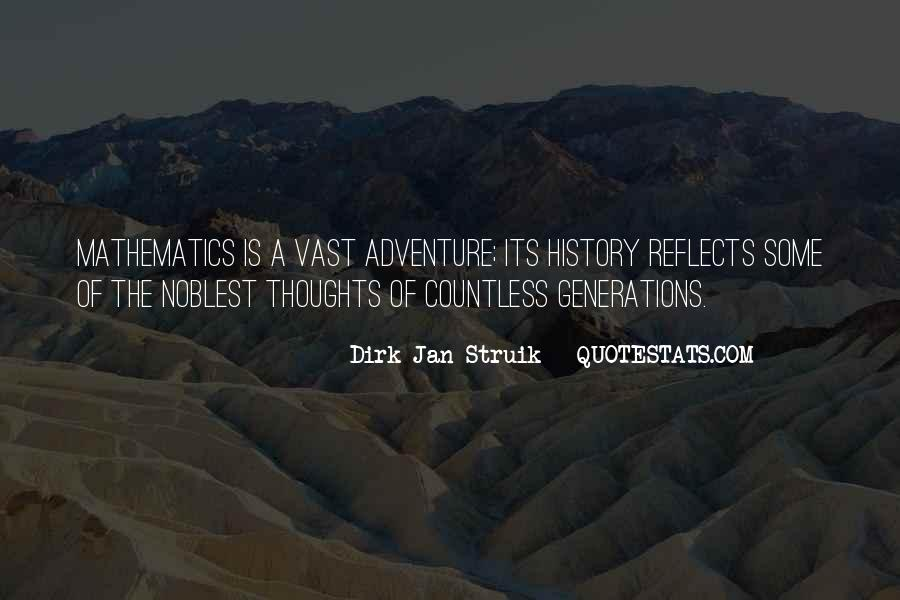 Adventure And Education Quotes #1866532