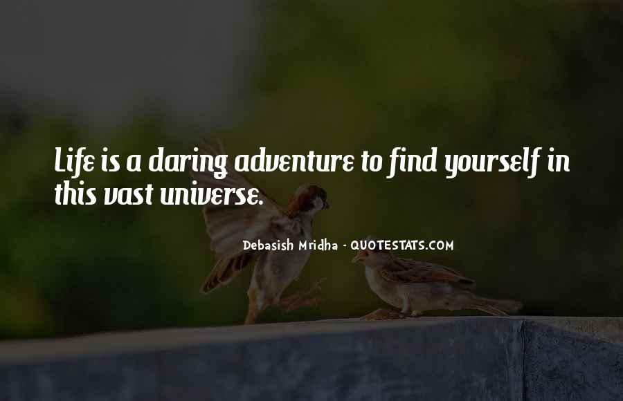 Adventure And Education Quotes #230244