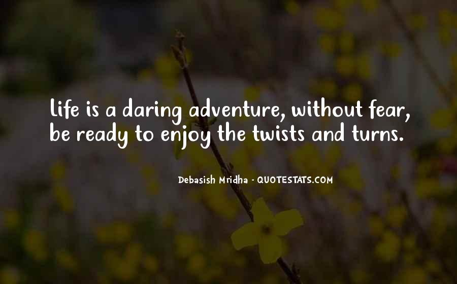 Adventure And Education Quotes #336032