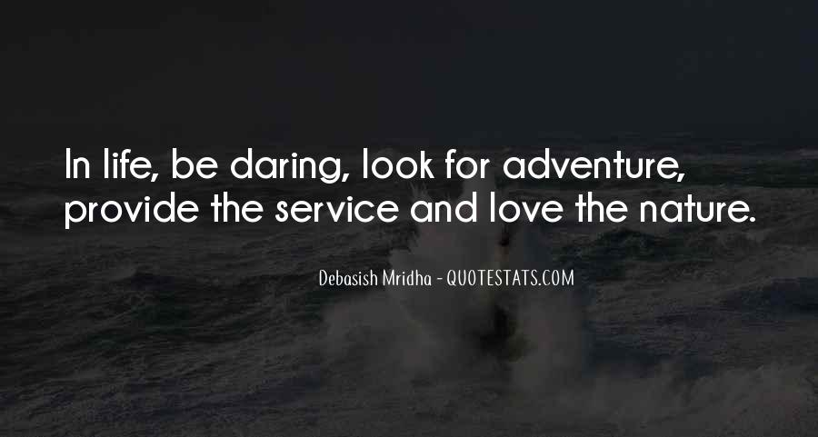 Adventure And Education Quotes #529854