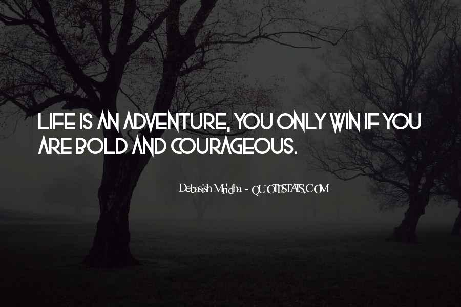 Adventure And Education Quotes #55580