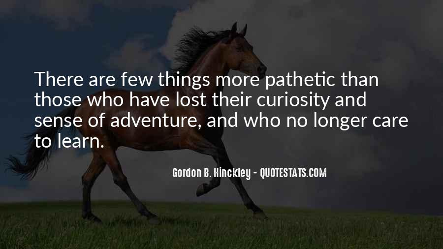 Adventure And Education Quotes #578972