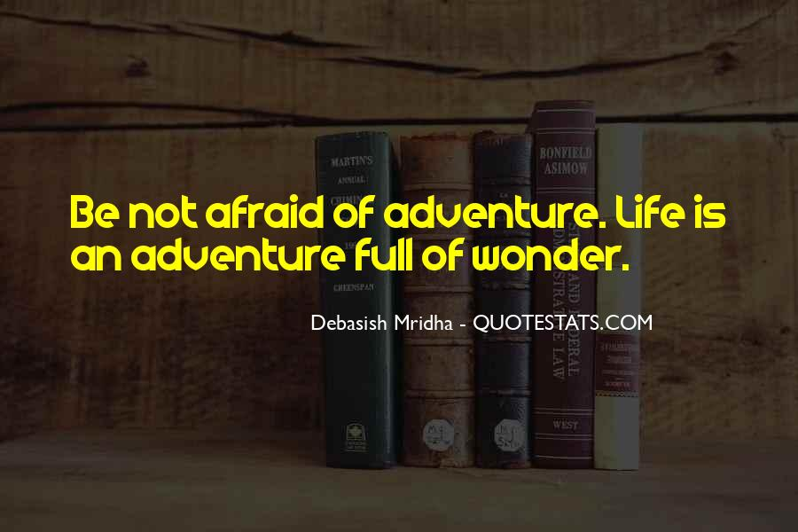 Adventure And Education Quotes #63133