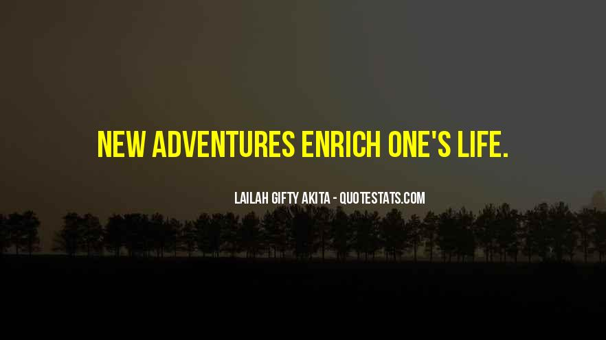 Adventure And Education Quotes #819581
