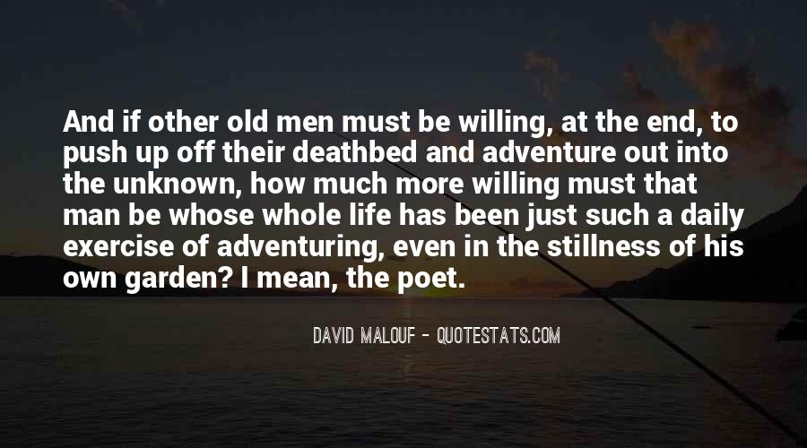 Adventure Into The Unknown Quotes #1214211