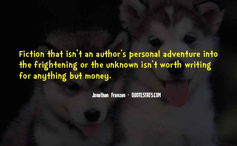 Adventure Into The Unknown Quotes #165908