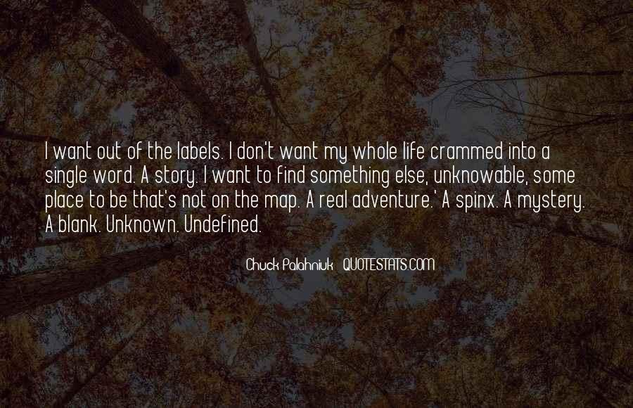 Adventure Into The Unknown Quotes #1701685