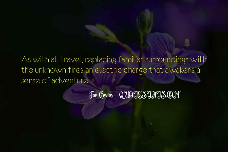 Adventure Into The Unknown Quotes #608850