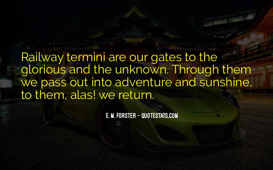 Adventure Into The Unknown Quotes #853214