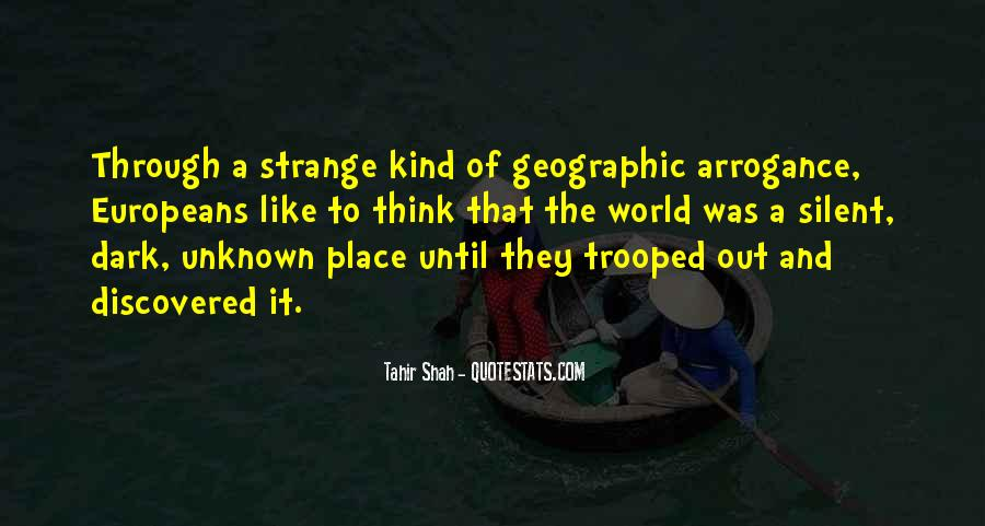 Adventure Into The Unknown Quotes #970268