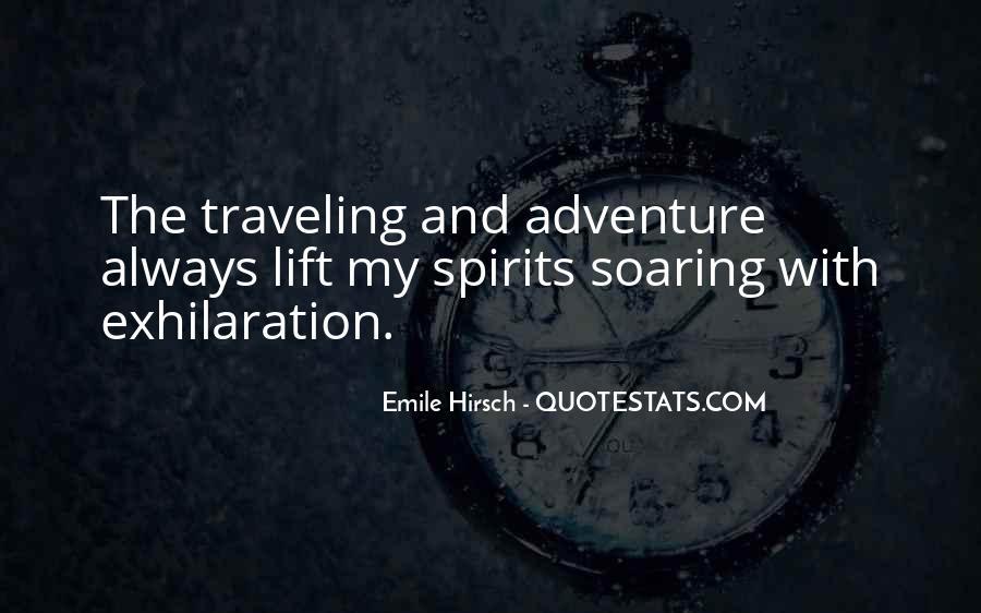Adventure Traveling Quotes #1012125