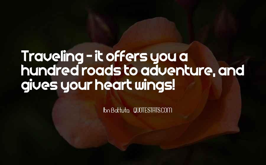 Adventure Traveling Quotes #573445