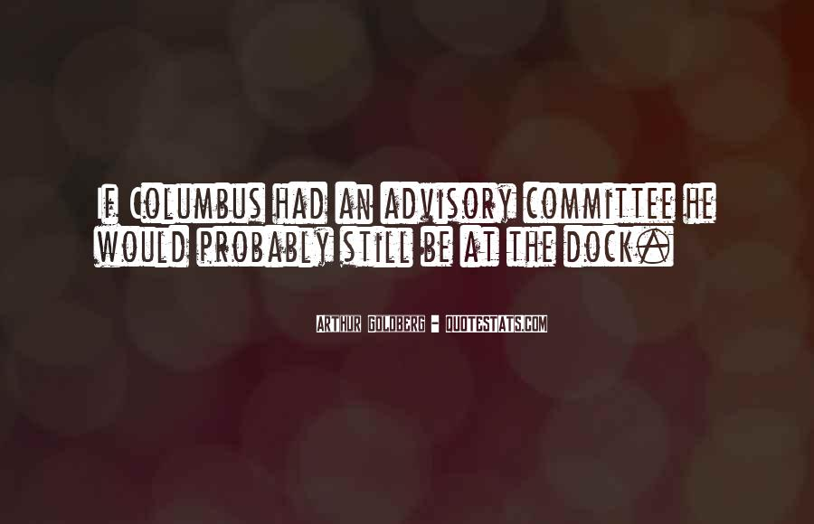 Advisory Committee Quotes #174149