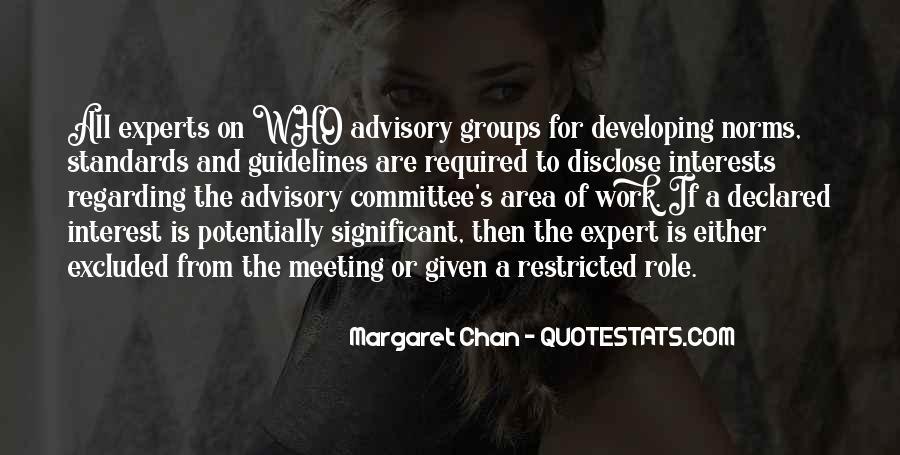 Advisory Committee Quotes #651285